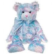 Ty Classic Beanie Buddy Fresco the Pink and Blue Tie-dye Bear Plush