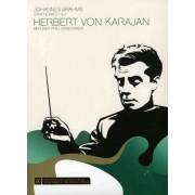 Herbert von Karajan - Brahms: Symphonies Nos. 1 & 2 (0886972024196) (1 DVD)