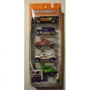 Matchbox 2012 Desert Adventure 5-Pack Quick Sander / Coyote 500 / Rock Shocker / Ridge Raider / Volkswagen Beetle 4X4