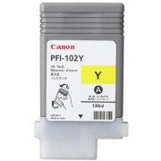 CANON PFI-102 Pigment Ink Tank Yellow for iPF500, iPF600, iPF700 (CF0898B001AA)
