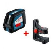 Nivela laser cu linii Bosch GLL 2-50 P + BM1