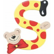 Playshoes houten letter S