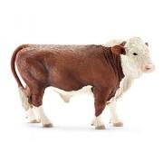 Schleich 2513763 Hereford Toro Figurina