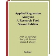 Applied Regression Analysis by J.O. Rawlings