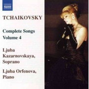 P.I. Tchaikovsky - Complete Songs Vol.4 (0747313040971) (1 CD)