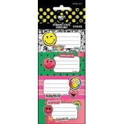 Smiley, emoji füzetcímke 20db (5ív/cs)