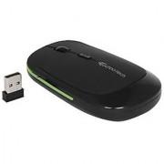 Technotech G-01 Ultra Slim Wireless Mouse 2.4 GHz Anti-Slip Rubber Grip - Black