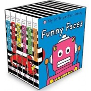 My Little Pocket Library: Funny Faces by Roger Priddy