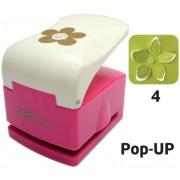 Perforator cu model complex 3.2 cm - Floare (4) Pop-up