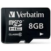 Card Verbatim microSDHC 8GB (Class 10)
