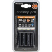 Cargador Panasonic BQ-CC55E + 4 baterias Eneloop Pro 2500mAh - Ref. K-KJ55HCD40E