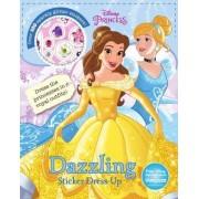 Disney Princess Dazzling Sticker Dress-Up by Parragon Books Ltd