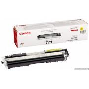 CANON 729 Yellow Toner Cartridge (CR4367B002AA)