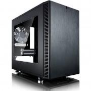 Carcasa Define Nano S Window, Mini ITX, Fara Sursa, Negru