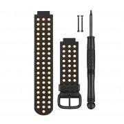 Garmin Forerunner 220/620 Aproach S5/S6 Black/Orange Strap