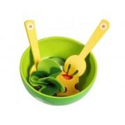 Bar sałatkowy dla dzieci - zabawa w gotowanie, akcesoria, DJECO DJ06616