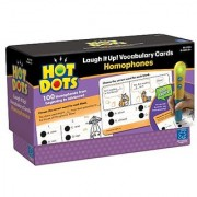 Educational Insights Hot Dots Laugh It Up! Vocabulary Cards Homophones