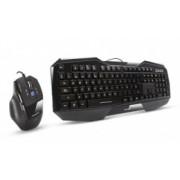 Kit Gamer de Teclado y Mouse Acteck GK-101, Alámbrico, USB, Negro