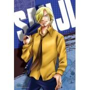 """[300 pieces mini puzzle] One Piece """"the Seventh: Sanji"""" Ensky Jigsaw Puzzle (26 x 38 cm) [JAPAN] (japan import)"""