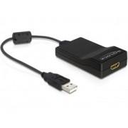 Convertor USB - HDMI Delock 61865