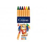 Creioane Cerate ICO Creative Kids 6/Set