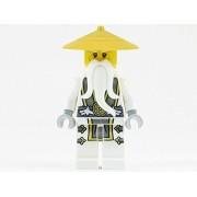 Master Sensei Wu Dragon Minifigure New