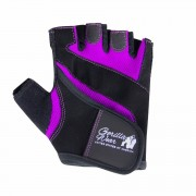 Gorilla Wear Women's Fitness Gloves Svart/Lila L