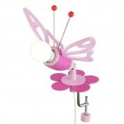 energie A++, Plafondlamp Vlinders - hout 1 lichtbron, Elobra