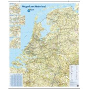 Wandkaart 33 Nederland | ANWB Media