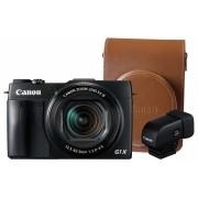 Canon PowerShot G1X Mark II Premium kit (toc de piele + eVF vizor)