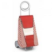 Gimi Extro húzós bevásárlókocsi piros - 145007