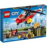 LEGO City Unitatea de interventie de pompieri 60108