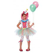 California Costumes Kaleidoscope Klown Costume, One Color, 6-8