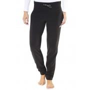 The North Face 100 Glacier Pantaloni lunghi Donne Regular nero L Pantaloni di lana e pile