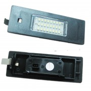 Pack LED plaque immatriculation BMW Serie 1 E81, E87, E87N