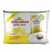 Almo Nature Classic 6 x 55 г - пиле и млади сардини