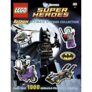 DC Universe Super Heroes Lego Batman Ultimate Sticker Collection by Emma Grange