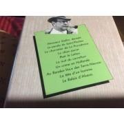 Simenon Tome 16. Le Relais D'alsace. Le Tète D'un Homme. Monsieur Gallet Décédé. Le Pendu De Saint Pholien Le Charretier De La Providence. Le Chien Jaune. Pietr Le Chien. Un Crime En Hollande.