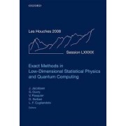 Exact Methods in Low-Dimensional Statistical Physics and Quantum Computing: July 2008 Volume 89 by Jesper Jacobsen
