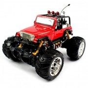 RC Monster TrucksBig Size Quality Electric Full Function Electric Full Function 1:16 Jeep Wrangler Convertible Monster Rtr Rc Truck (Colors M Ay Vary) Quality Remote Control Rc Trucks W/ Working Suspension