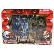 "Transformers Movie Series 2 ""Revenge of the Fallen"" 2 Pack Robot Action Figure Set - MASTER OF METALLIKATO with 7 Inch Tall Voyager Class Autobot WHIRL (Vehicle Mode: Sikorsky Pave Low Helicopter)and 6 Inch Tall Deluxe Class Decepticon BLUDGEON (Vehicle M"