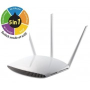 Router Wireless Edimax BR-6208AC, Dual-Band, 750 Mbps, 5 in 1 (Router, Access Point, Range Extender, Wireless Bridge si WISP)