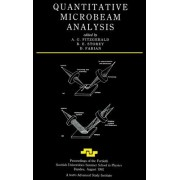 Quantitative Microbeam Analysis by A. G. Fitzgerald