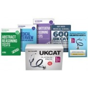 UK Clinical Aptitude Test (UKCAT) Platinum Package Box Set: Situational Judgement Tests, Abstract Reasoning Tests, Quantitative Analysis, Get into Medical School Guide, Medical Interview Questions: 1 by Richard McMunn