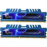 Kit Memorie G.Skill RipjawsX Blue 2x4GB DDR3 2133MHz CL9 Dual Channel