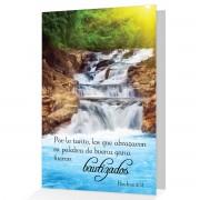 Felicitaciones por bautismo - Hechos 2:41 - (Postal con texto biblico)
