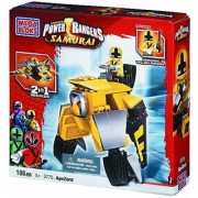 Buildable folding zord-2-in-1 building choose between classic Yellow Ape or cool fantasy vehicle-Building steps online