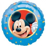 Mickeys Club 18 Inch Mickey Character Mylar Balloon - Each