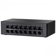 Комутатор Cisco SF110D-16 16-Port 10/100 Desktop Switch, SF110D-16-EU