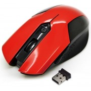 Mouse Optic VAKOSS TM-651UR, 1600 DPI (Rosu)